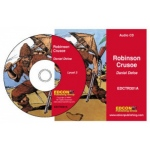 Edcon Robinson Crusoe -Grade 3 Reading Level Audio CD
