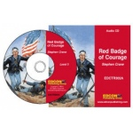 Edcon Red Badge of Courage-Grade 3 Reading Level Audio CD