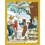 Edcon's Tom Sawyer Book: Reading Level Grade 2 by Mark Twain