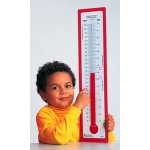 Demonstration Thermometer 24 X 5-3/4 Fahrenheit/celsius