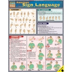 BarCharts American Sign Language Quick Study Guide