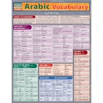 BarCharts Arabic Vocabulary Quick Study Guide