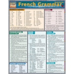 BarCharts French Grammar Quick Study Guide