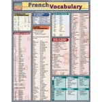 BarCharts French Vocabulary Quick Study Guide