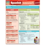 BarCharts Spanish Fundamentals 1 Quick Study Guide