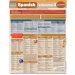 BarCharts Spanish Fundamentals 2 Quick Study Guide