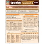 BarCharts Spanish Fundamentals 3 Quick Study Guide