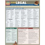 BarCharts Spanish Legal Conversation Quick Study Guide