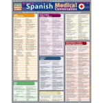 BarCharts Spanish Medical Conversation Quick Study Guide