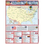 BarCharts America The 50 States Quick Study Guide