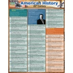 BarCharts American History 20Th Century Quick Study Guide