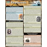 BarCharts Explorers Of North America Quick Study Guide