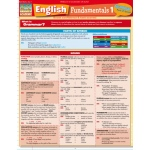 BarCharts English Fundamentals 1 Quick Study Guide