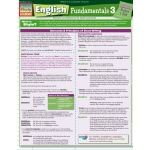 BarCharts English Fundamentals 3 Quick Study Guide