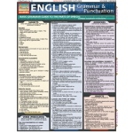 BarCharts English Grammar & Punctuation Quick Study Guide