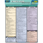 BarCharts English Grammar Quizzer Quick Study Guide