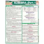 BarCharts Algebra Part 1 Quick Study Guide