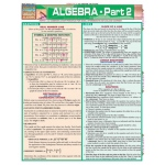 BarCharts Algebra Part 2 Quick Study Guide