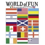 Melody House World of Fun-Folk Dances From Around The World: Grades 1st-Adult, Set of 3