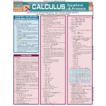 BarCharts Calculus Equations & Answers Quick Study Guide