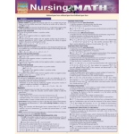 BarCharts Nursing Math Quick Study Guide