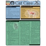 BarCharts Cat Care Quick Study Guide