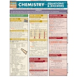 BarCharts Chemistry Equations & Answers Quick Study Guide