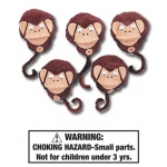 Five Little Monkeys Characters: Set of 5