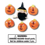 Five Little Pumpkins Characters: Set of 6