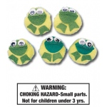 Five Speckled Frogs Characters: Set of 5