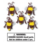 Honey Bees Characters: Set of 5