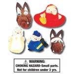 Little Red Riding Hood Characters: Set of 5