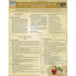 BarCharts Bible Characters:Old Testament Quick Study Guide