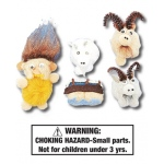 Three Billy Goats Gruff Characters: Set of 5