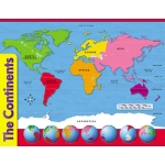 Chart The Continents