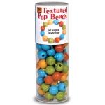Textured Pop Beads 100 Ct Tube