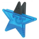 Magnet Clips Assorted Blue/gold Star Clips