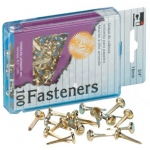 Brass Paper Fasteners 1.5in 100/bx