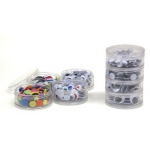 Eyes In Stacking Storage Container 400 Pieces