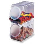 Storage Container W/lid Interlockng
