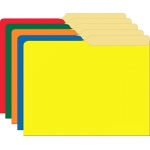 Primary Assorted File Folders Half Cut Assorted Colors 9.5x11.75 10pk