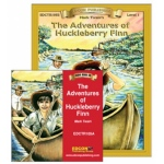 Edcon's Adventures of Huckleberry Finn Book Audio CD