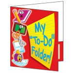 Pocket Folder My To Do Folder 8-1/2 X 11 Plastic-Coated