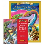 Edcon's A Journey to the Center of the Earth Read-Along Book CD