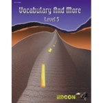 Edcon's Cloze Vocabulary and More Reading Level 5.0-6.0