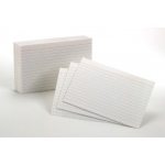 Oxford Index Cards 4x6 Ruled White 100 Per Pack