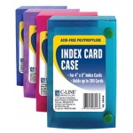 C Line 4x6 Index Card Case