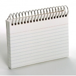 Oxford Spiral Index Cards 3x5 White