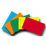 Index Cards 2x3 Blank 200 Ct Brite Assorted