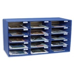 Mail Box - 15 Mail Slots Blue